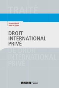 Droit international privé Bernard Audit, Louis d'Avout